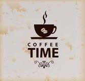 Kaffeezeit Lizenzfreies Stockbild
