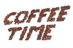 Kaffeezeit Lizenzfreie Stockfotografie