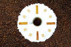 Kaffeezeit stockfotos