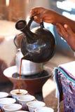 Kaffeezeremonie lizenzfreie stockfotografie