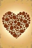kaffeförälskelse Royaltyfri Illustrationer