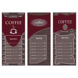 Kaffeföretag röd color-05 Fotografering för Bildbyråer
