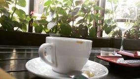 Kaffefläck Royaltyfria Foton