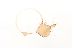 Kaffefläck Arkivbilder