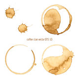 Kaffefläck Royaltyfria Bilder