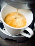 kaffeframställning royaltyfria foton
