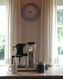 kaffeframställning arkivfoton