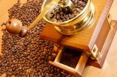 kaffegrinder Arkivfoto