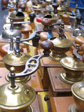 kaffegrinders Arkivbild