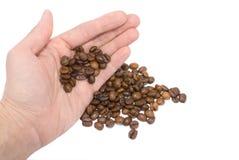 kaffehand Royaltyfria Bilder