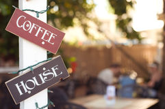 kaffehus Royaltyfria Bilder