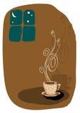 kaffeillustrationvektor vektor illustrationer