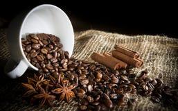 Kaffeingrediens Royaltyfria Bilder