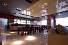 Kaffeinnenraum Lizenzfreie Stockbilder