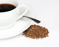 kaffeinstant Arkivfoto