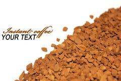 kaffeinstant Arkivbild