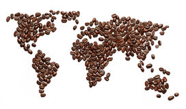 Kaffeinvasion. royaltyfri foto