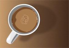 kaffejpgen rånar Arkivfoto