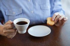 kaffekaka arkivfoto