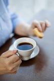kaffekaka arkivbild