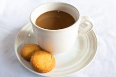 kaffekakor Arkivfoto