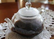 Kaffekettle Fotografering för Bildbyråer