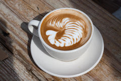 Kaffekonst Arkivfoto
