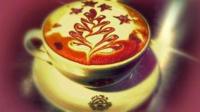 Kaffekonst Royaltyfri Fotografi