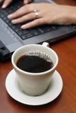 kaffekontor arkivbild