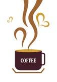 kaffekopp stock illustrationer