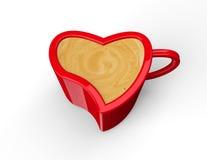 Kaffekopp med kaffe Arkivbilder