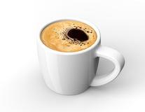 Kaffekopp med kaffe Royaltyfri Foto