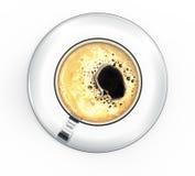 Kaffekopp med kaffe Royaltyfri Fotografi
