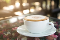 Kaffekopp på Bangkok i Thailand Arkivfoton