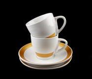 kaffekoppar Arkivbilder