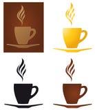 kaffekoppar stock illustrationer