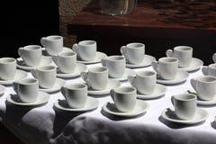 kaffekoppar Royaltyfri Foto