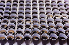 kaffekoppar Royaltyfria Bilder