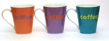 Kaffekoppar Royaltyfri Fotografi