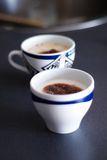 kaffekoppar två Royaltyfria Foton