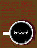 Kaffekoppen Royaltyfri Foto