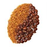 Kaffekorn. Royaltyfri Foto