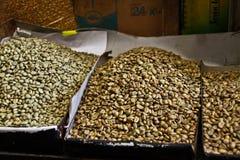 Kaffekorn, Etiopien Arkivbild