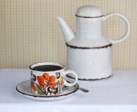 kaffekruka Arkivfoto