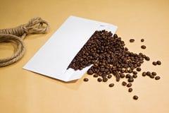 kaffekuvert arkivfoto