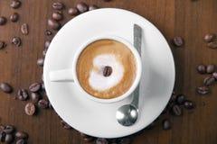 kaffemacchiato Arkivfoto