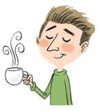 kaffeman Royaltyfri Bild