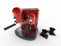 kaffemaskin Royaltyfri Foto