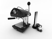 kaffemaskin Arkivbild