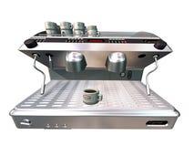 kaffemaskin royaltyfri illustrationer